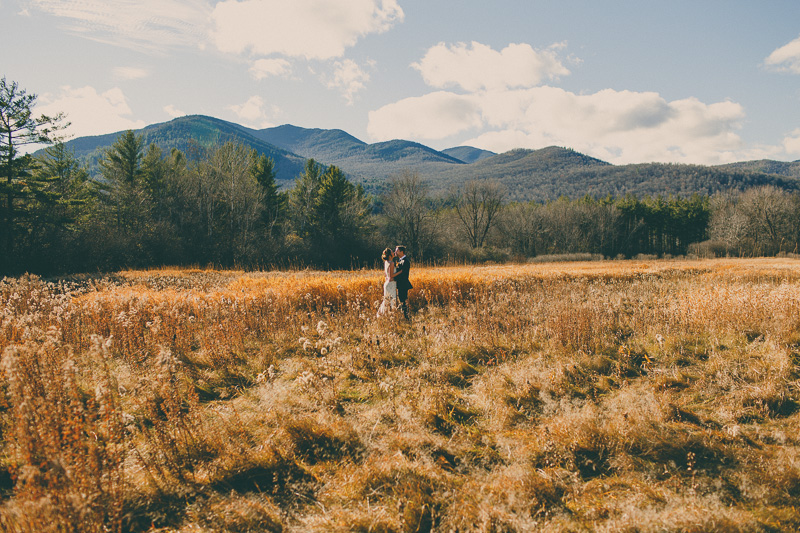 fall destination mountain Romantic Mountainside Elopement photos