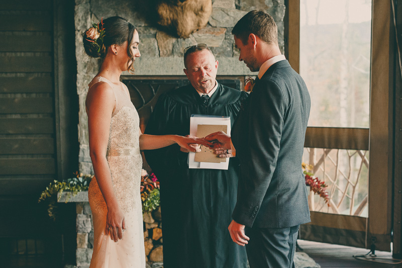 lake placid wedding ceremony
