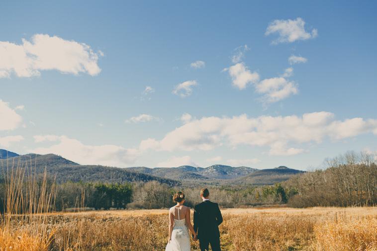 destination mountain elopement wedding
