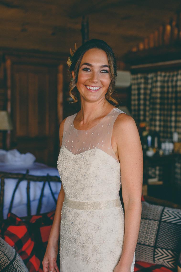 lake placid lodge bride