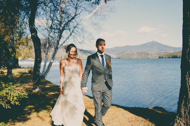 destination mountain wedding elopement
