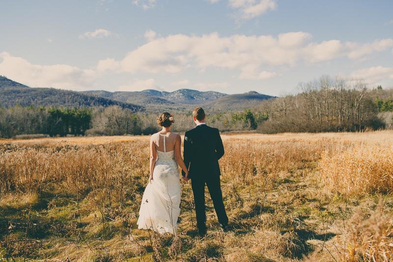 fall destination mountain wedding elopement photos