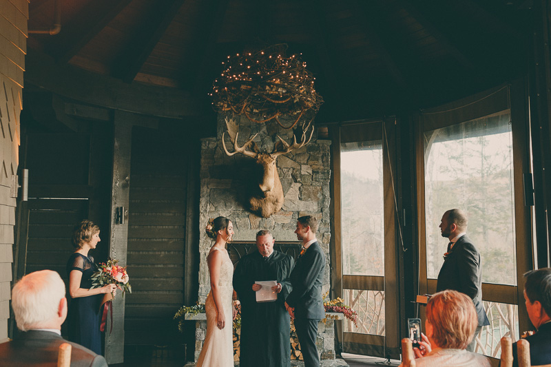 lake placid lodge ceremony