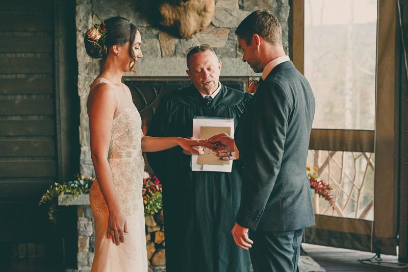 lake placid wedding ceremony