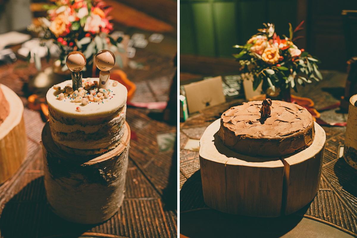 daschund wedding cake momufuko