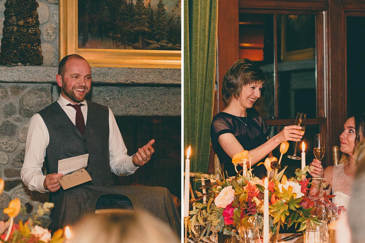 lake placid lodge wedding reception