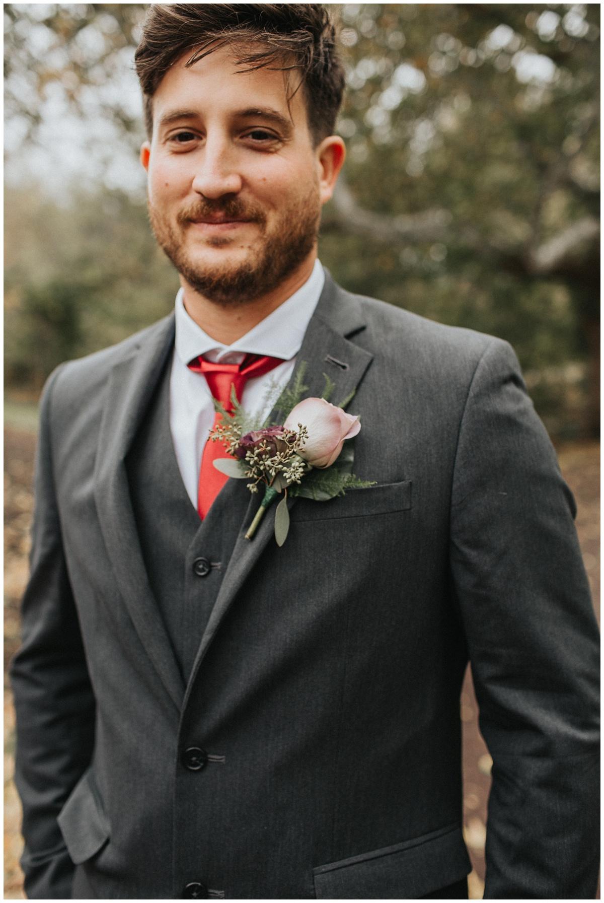 groom boutonniere, faye & renee floral