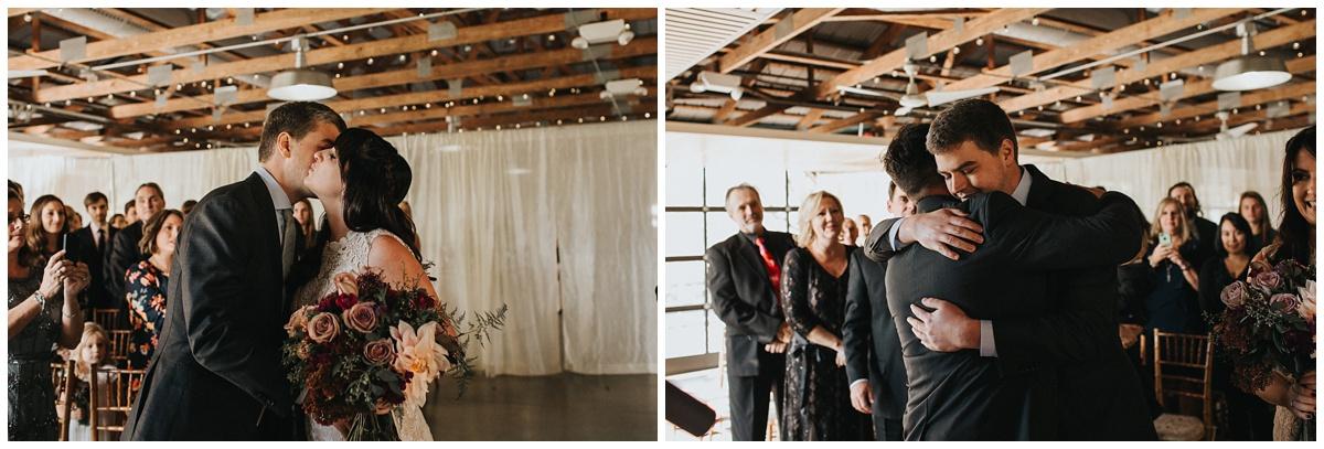 rustic wedding ceremony wedding photos