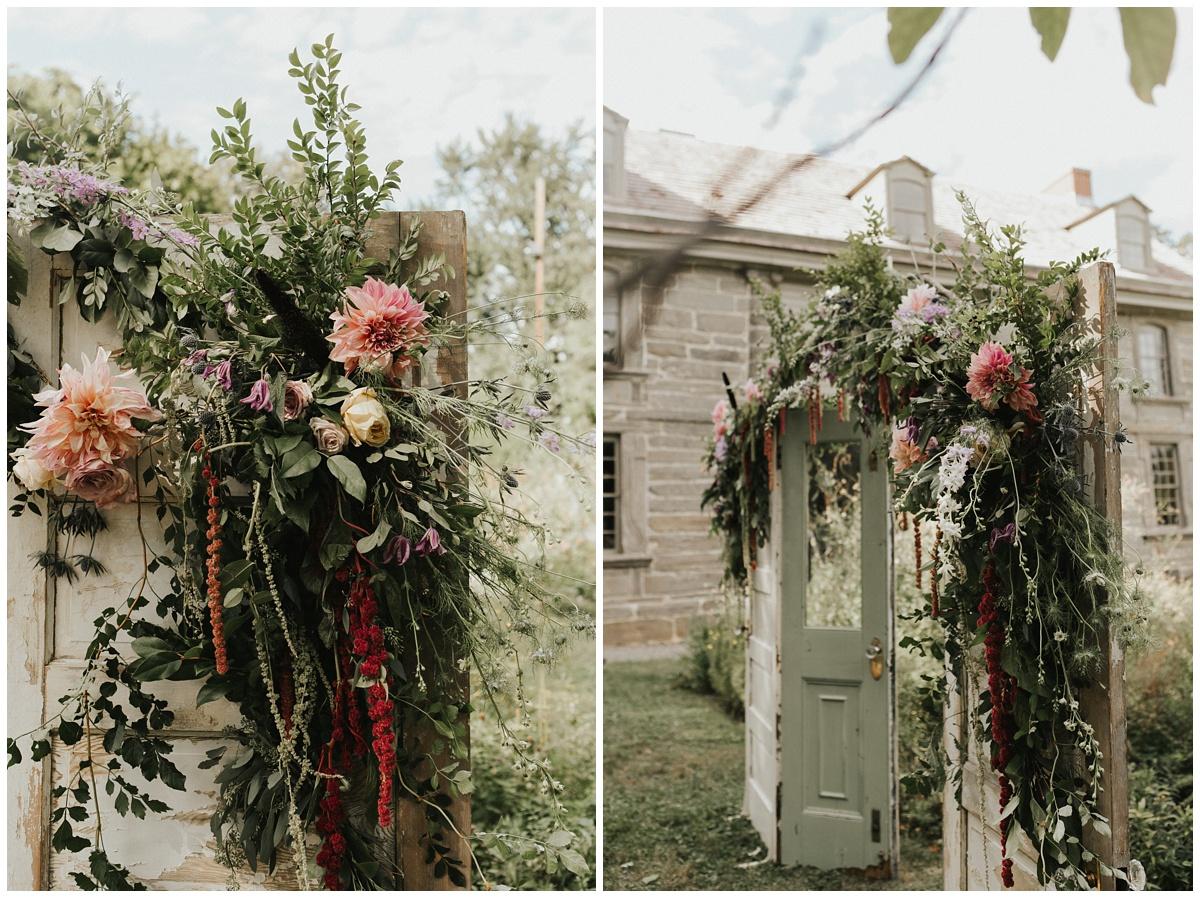 fresh designs florist ceremony arbor