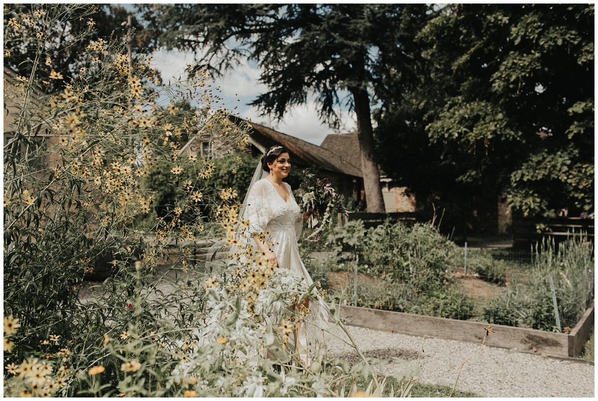 boho bride, cleo dress, hippie bride