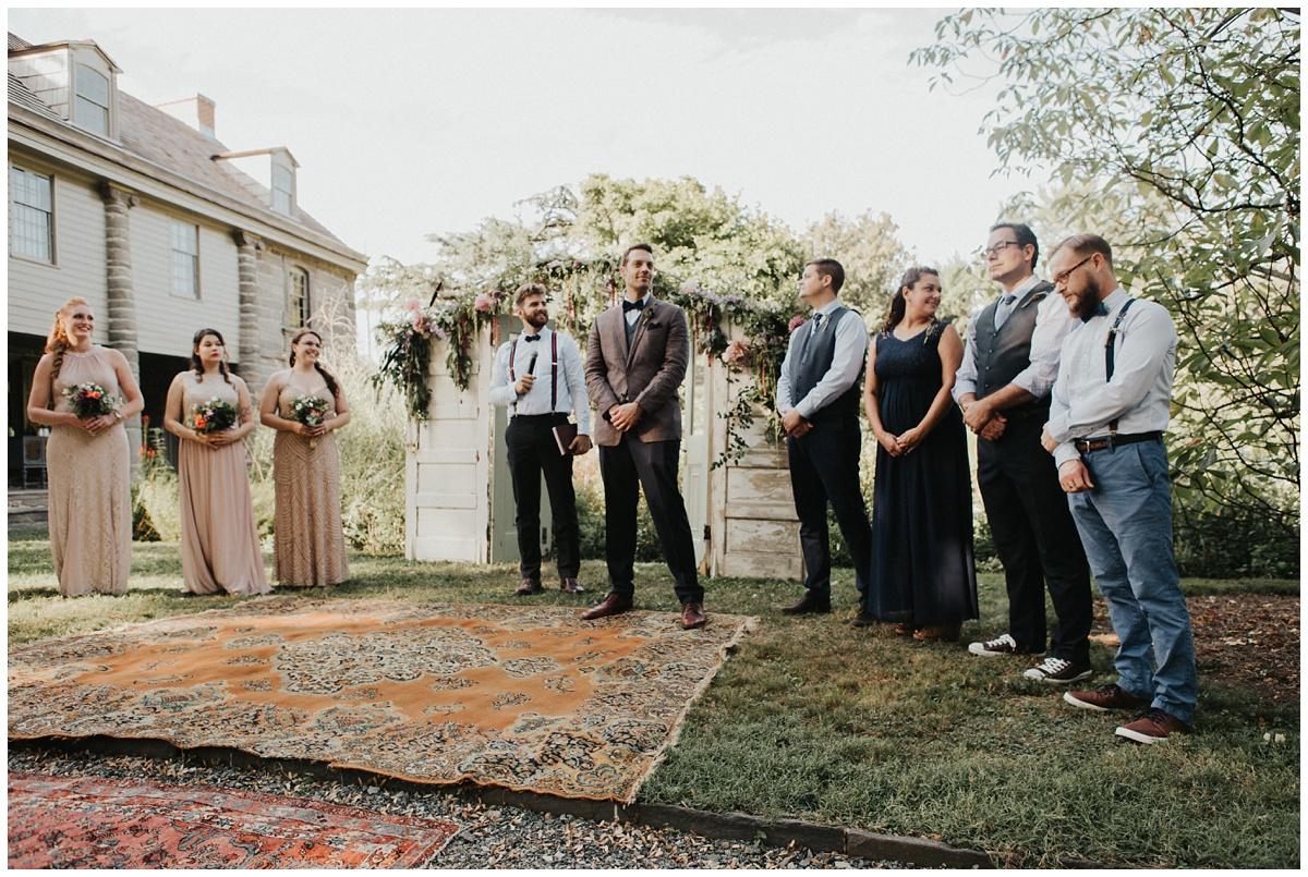 batram's garden ceremony