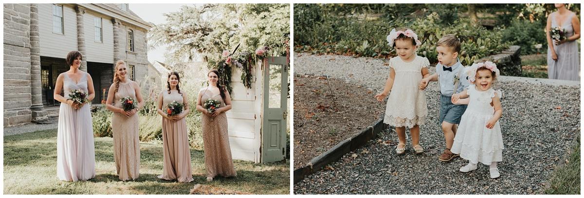 garden outdoor wedding