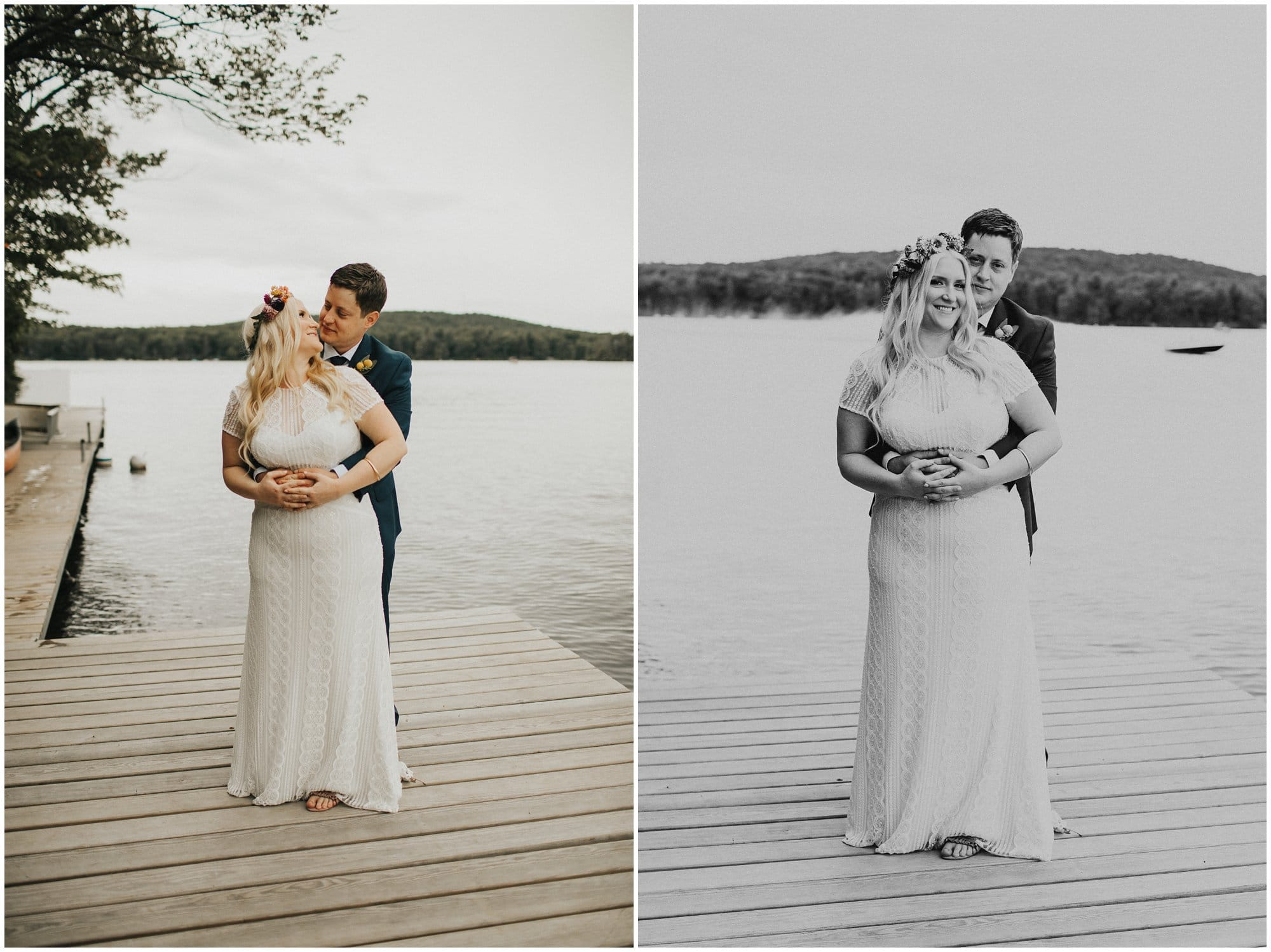 Campground Wedding at Camp Oneka in Tafton, Pennsylvania